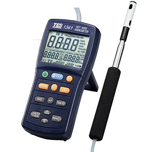 TES 1341 Hot-Wire Anemometer