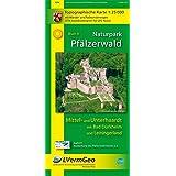 Naturpark Pfälzerwald /Mittel- und Unterhaardt mit Bad Dürkheim und Leiningerland: Naturparkkarte 1:25 000 mit Wander- und Radwanderwegen (Freizeitkarten Rheinland-Pfalz 1:15000 /1:25000)