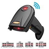 Haofy Barcode Scanner,2-in-1 Wireless Bluetooth scaning and Wired usd Cable scanning with Automatic Continuous Scan and Inventory Memory for Computers,Pads,Smartphones and Laptop