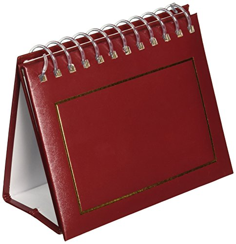 - Pioneer Photo Albums 50 Pocket Spiral Bound Leatherette Mini Photo Album Easel for 4 by 6-Inch Prints, Burgundy