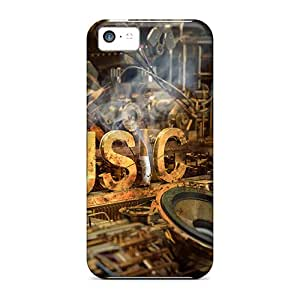 Hot Style RDr1280NRDz Protective Cases Covers For Iphone5c(music Industry)