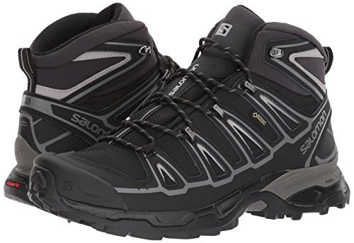 Black Spikes Mid GTX Salomon Men Ultra Schwarz Aluminium X 2 qFZaO0