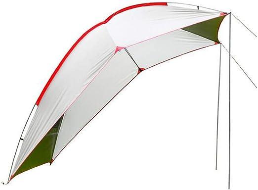 YONG Tienda del toldo del Coche, Pérgola/Canopy/Restaurante al Aire Libre/Toldo de Coche,Diseño de claraboya Superior, Varilla de Fibra de Vidrio: Amazon.es: Hogar
