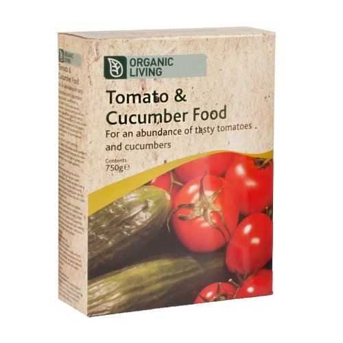 Organic Living 750g Tomato and Cucumber Food For Use In All Garden Types