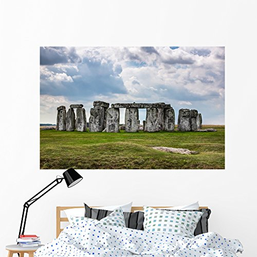 Stonehenge England Uk Wall Mural by Wallmonkeys Peel and Stick Graphic (60 in W x 40 in H) WM360659