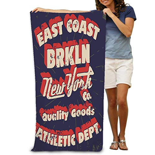 New York Giants Denim - Xunulyn Beach Towel Large Beach Towel, Soft 31