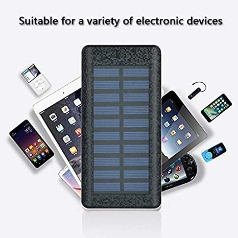 Amazon.com: Cargador portátil Cargador Solar Power Bank ...
