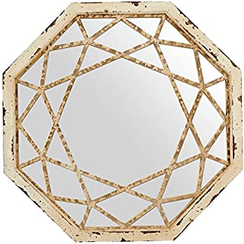 stone beam modern arc metal frame mirror h silver finish home kitchen. Black Bedroom Furniture Sets. Home Design Ideas