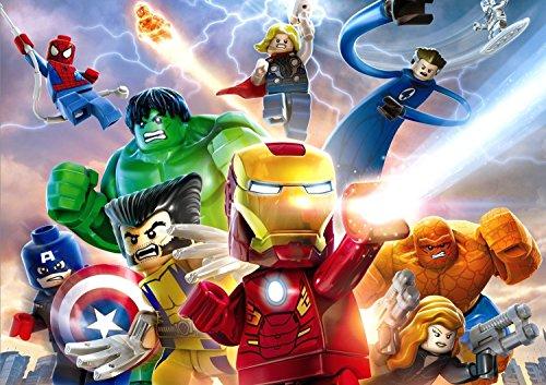 Lego Marvel Super Heroes Poster (3ds Lego Marvel Super Heroes)