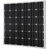 HQST 150 Watt 12 Volt Monocrystalline Photovoltaic PV Solar Panel 12V Battery Charging