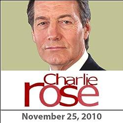 Charlie Rose: Colin Firth, Tom Hooper, and Fran Lebowitz, November 25, 2010