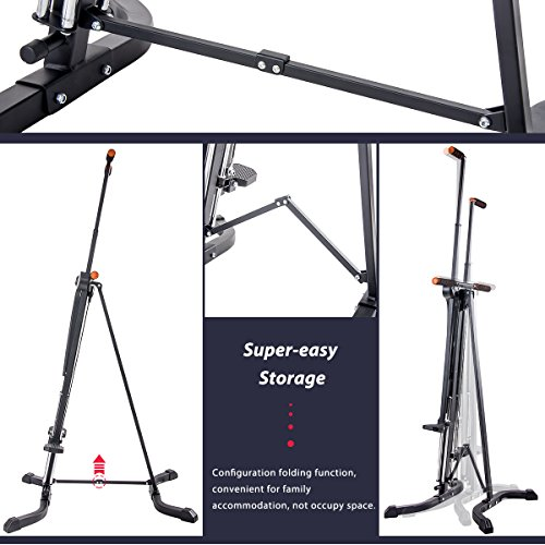 Merax Vertical Climber Exercise Folding Climbing Machine for Home Gym Folding Cardio Workout Machine by Merax (Image #2)