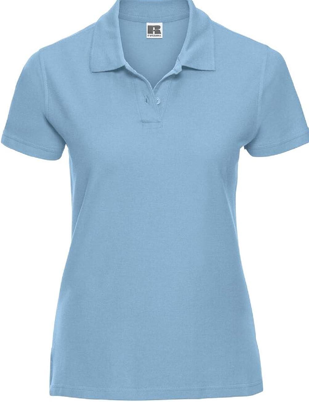 Russell Athletic - Polo - para Mujer Azul Azul Celeste S: Amazon ...