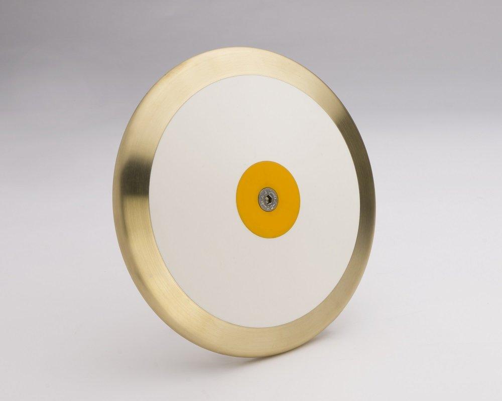 プレミアゴールドメダル2 Kilo 88 %真鍮Rim重量世界クラストラック&フィールドDiscus。スローのあらゆる主要国際トラックイベント。2年保証。   B07BK9RPZL
