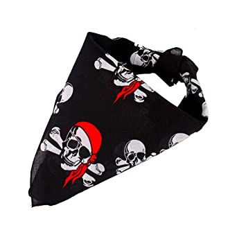 14 pieza Piratas Bandana Cabeza paños  367fb6a32a1