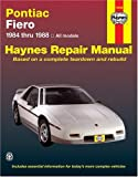 Pontiac Fiero, 1984-1988, John Haynes and Mike Stubblefield, 1850106169