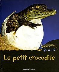 Le petit crocodile par Mireille Fronty