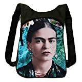 Akitai Young Frida Kahlo Portrait Ocean Green Backpack Womens Purse – Unique  Women Gypsy Fashion Ideas Review