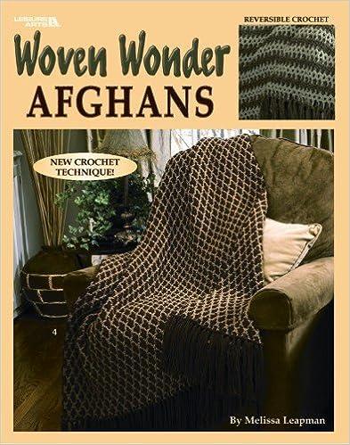 Book Woven Wonder Afghans(Leisure Arts #3442)