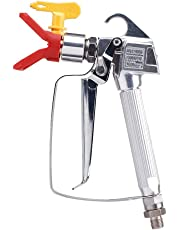 Airless Paint Sprayer Spray Gun with Tip&Tip Guard for Graco Titan Wagner,High Pressure 3600 PSI with 517 Tip Swivel Joint