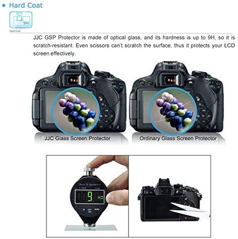Sony Sony a7 II III a7R II III a7S II a9 LCD Protector JJC 0.01 Ultra-Thin Optical Glass LCD Screen Protector for Sony a7 II a7 III a7R II a7R III a7S II a9 Agasinst Water Oil /& Fingerprints