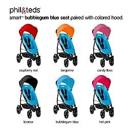 phil&teds Smart Customizable Frame Stroller, Black