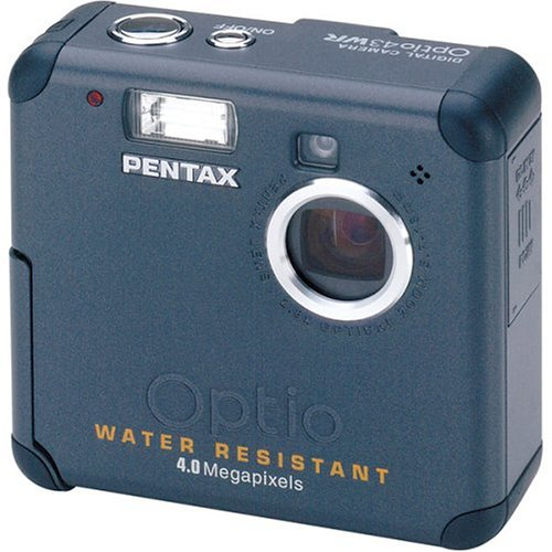 Pentax Optio 43WR 4MP Water Resistant Digital Camera with 2.8x Optical Zoom Pentax Optio Waterproof Camera