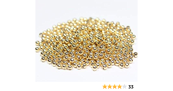 One Pair EP-0122 14K Gold Filled 3mm Round Bead with Silicone Insert and Post Ear Back Included