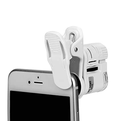 Amazon com: Detachable 60X Mini Phone Camera Clip Magnifier