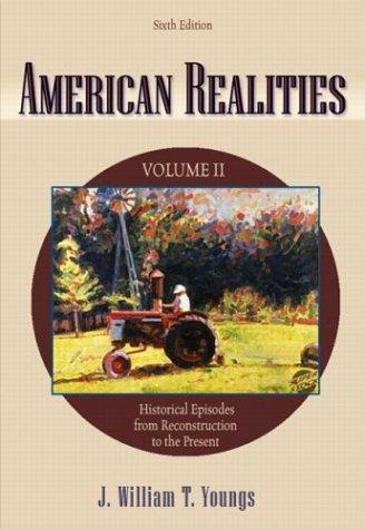 American Realities, Vol. 2, Sixth Edition