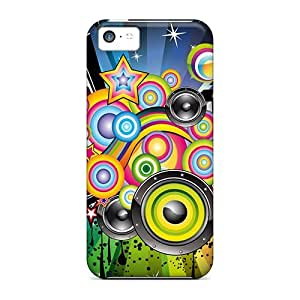 New Arrival GoldenArea Hard Case For Iphone 5c