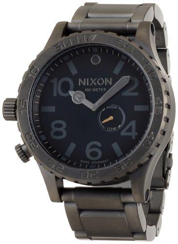 [ニクソン]NIXON 5130 ALL GUNMETAL/BLACK NA057680-00 メンズ