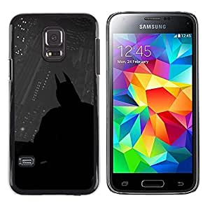 Stuss Case / Funda Carcasa protectora - Oscuro Murciélago Superhéroe - Samsung Galaxy S5 Mini, SM-G800
