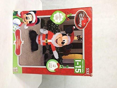Disney Airblown hinchable de Mickey Mouse como Santa con una barba ...