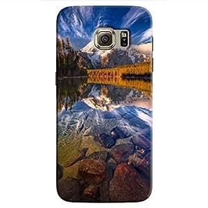 Cover It Up - Mirror Lake Galaxy S7 Edge Hard Case