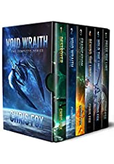 After 26,000 years the Void Wraith have returned. The Eradication has begun. Over 1,800 pages of fiction.Mankind's outer colonies are disappearing. Without warning. Without a trace. Fleet command chalks the attacks up to pirates, but Captain ...