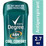 Degree Men Dry Protection Antiperspirant, Cool Comfort 2.7 oz, (Pack of 6)