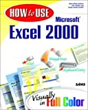 How to Use Microsoft Excel 2000, Deborah Craig and Dan Gookin, 0672315386