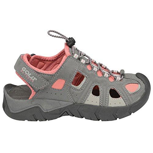Gola - Sandalias de vestir de Material Sintético para niño Gris gris - Grey/Pink