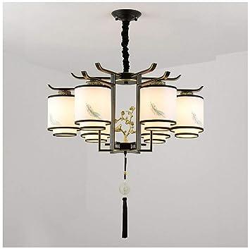 Y.H_Super Nueva lámpara Colgante China de Estilo Chino de la ...