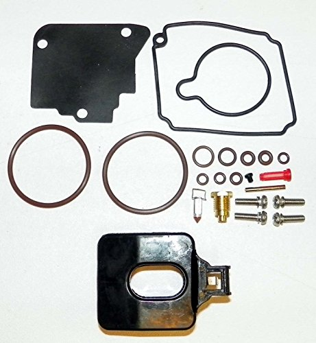 Yamaha Complete Carburetor Kit with float F100 Hp 1999-2002 WSM 600-66 OEM# 67F-W0093-00 Oem Carburetor Float