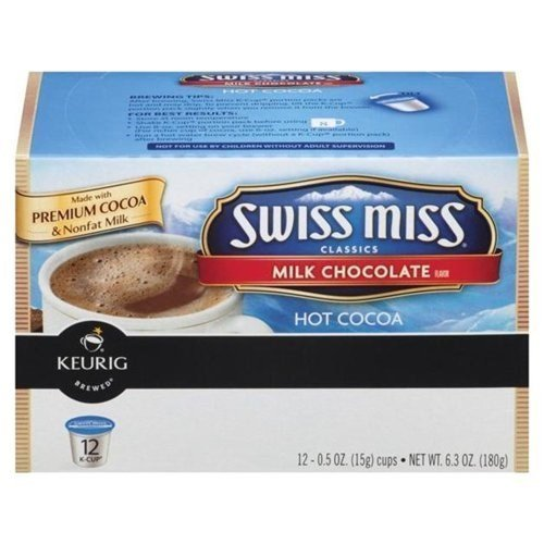 Swiss Miss Milk Chocolate Hot Cocoa 72 Count K-Cups by Swiss Miss