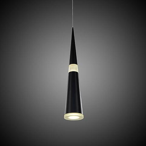 jdong futurista de LED Iluminación de techo 12 W Cono Modern ...