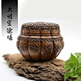 Hand-made Red Copper ruyi Censer -Incense Burner- Contain Incense Holder Net Weight: 1150g (Approx.) Hand-made Chinese Classical Style Traditional Technology
