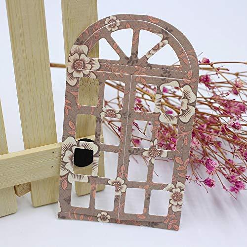 66X110mm Window Metal Cutting Dies Scrapbooking Dies Metal Cutting Dies Cut New 2018 for DIY Decorations Gift - Die 66