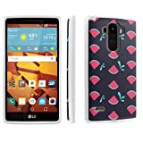 LG G Stylo [LS770 H631] Case, [SkinGuardz] Hybrid Tough Impact Resistant Case - [Watermelon] Print Design -  SkinGuardz for LG G Stylo