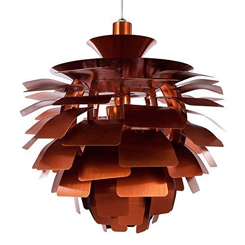 Artichoke Copper Pendant Light - 7