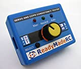 RMRC Servo Tester & Centering Tool - Drone racing - FPV - RC Airplane - Works with any servo