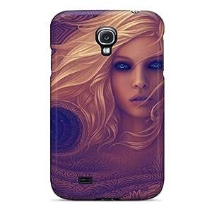 Mialisabblake Galaxy S4 Hybrid Tpu Case Cover Silicon Bumper Blue Eyed Girl