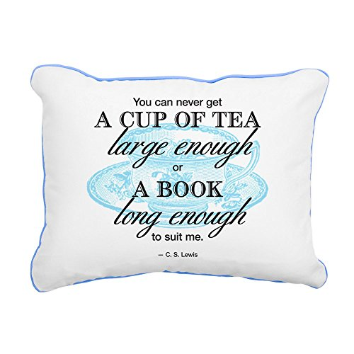 CafePress Quote Canvas Pillow Accent